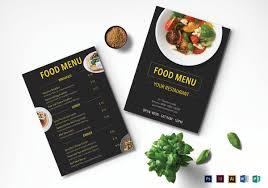 30 Creative Restaurant Menu Designs Free Premium Templates