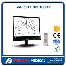 Hot Item Cm 1800 Eye Test Charts Eye Charts Projector Lcd Vision Chart