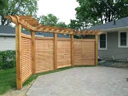privacy screen outdoor outdoor privacy ideas good idea privacy screen outdoor lattice fence privacy fence back