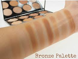 review bronze palette makeup revolution blush and contour palette all about bronzed 13g at low s in india amazon