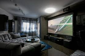 Lights To Put Behind Tv Projectors Vs Tvs Which Is Best For Your Home Theater