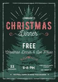 christmas dinner poster community christmas dinner on december 22 2018 simcoe com