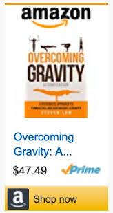 Overcoming Gravity Progression Chart Blog