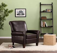 Living Room Club Chairs Amazoncom Dorel Living Elegant Faux Leather Club Chair Kitchen