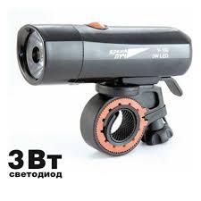 <b>Фонарь ЯРКИЙ ЛУЧ</b> V-100 велосипедный LED 3W, 3 режима ...