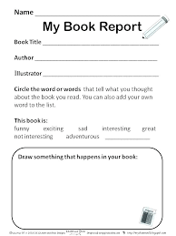 Book Report Templates Middle School Biography Book Report Template Middle School Fresh N Updrill Co