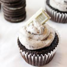 hershey cookies and cream cupcakes. Delighful Cupcakes Chocolate Cookies N Cream Cupcakes On Hershey And