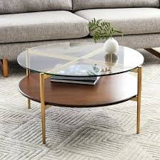 pottery barn tanner coffee table enchanting round table in tanner e matte iron bronze finish pottery