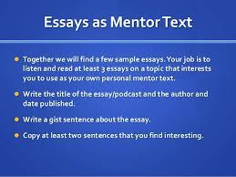 this i believe unit powerpoint essays