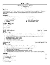 Resume Quality Control Resume Sample