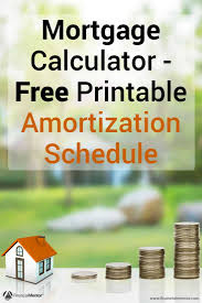 mortgage amortization comparison calculator mortgage payment calculator with amortization schedule