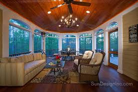 Sun Design Remodeling Specialists Screened Porch Addition To Rear Of Home Sun Design
