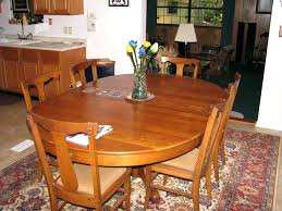 refinish dining room table round cost