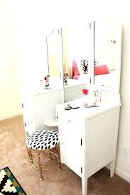corner makeup vanity set table with mirror canada
