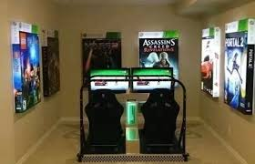 How To Design A Video Game At Home On 500x286 Cozy Cool Video Cool Gaming Room Designs