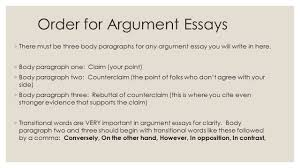 sentence order requirements for paragraphs essays not written 9 order