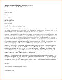 Format For Cover Letter Standard Cover Letter General Resumes 21