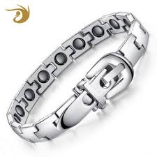 whole snless steel jewelry manufacturer china bio x power energy magnetic bracelet men