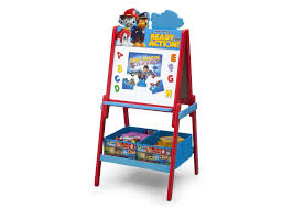art desks and easels for toddlers delta children s s paw patrol wooden double sided