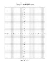 Coordinate Plane Graph Paper Generator Charleskalajian Com