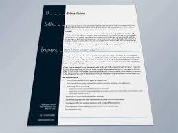 Resume Templates Indesign Free Download Indd Template Impressive