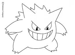 Small Picture Gengar coloring pages Hellokidscom
