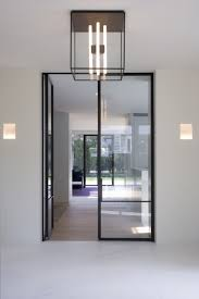 internal steel framed doors