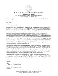 letter of recommendation for manager recommendation letter  letter