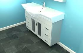 full size of narrow depth bathroom vanity canada small with copper sink units single top 6