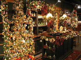 ... Impressive Old World Christmas Decor Astounding Glass Ornament Display  Ideas Picture Gallery ...