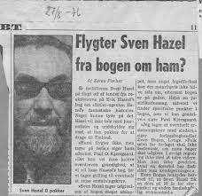 BT fortalte, hvad der skete, da 'Sven Hazel' som den første købte Erik Haaest's bog på udgivelsesdagen: Gå til INDHOLDSFORTEGNELSEN. - 10-BT-flygterHazel