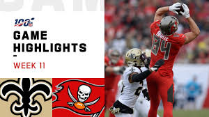 Divisional round second half open thread. Saints Vs Buccaneers Week 11 Highlights Nfl 2019 Youtube