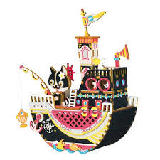 Ships from and sold by amazon.com. Fishing Kitty Diy Wooden Music Box Eureka Puzzles