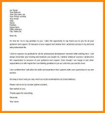 example of a formal letter sample formal farewell letter to boss example