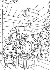 printable 22 jake and the neverland pirates coloring pages 6596