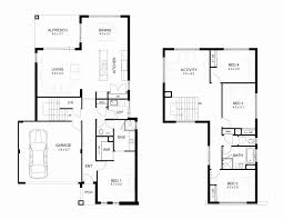 pdf luxury 24 24 two story house plans awesome floor plan for two y house two