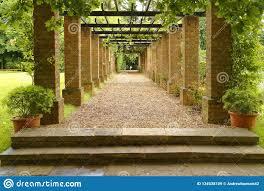 English Garden, Knebworth House, England. Pruned Editorial Stock Image -  Image of glowing, architecture: 134538109