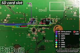the definitive wii trimming guide bitbuilt giving life to old if using a 3rd party sd card slot reference your schematic to determine reconnecting pins cd and wp or if lacking that functionality directly connect