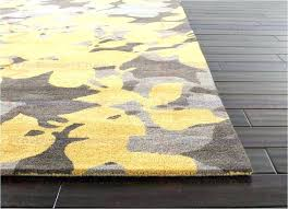 beautiful yellow and grey rugs best blue orchid hand tufted fl pattern wool gray luxury area furniture design idea an