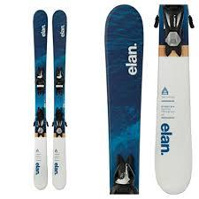 Ski Din Chart 2016 Amazon Com Elan Pinball Pro Kids Skis With El 7 5 Bindings