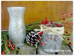 picture of craft paint mercury glass vase