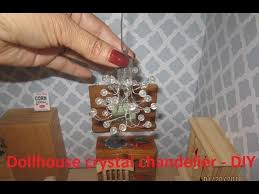 dollhouse chandelier lamp for dolls house from balloon led light battery operated