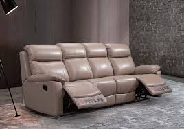 leather recliner 4 seater