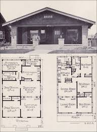 artistic 1920 craftsman bungalow house plans modern 1920s 1922 bennett homes better built ready cut