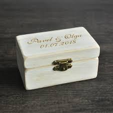Decorative Ring Boxes Wedding Ring Box Wooded Ring Bearer BoxPersonalized Ring Box 66