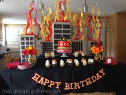 Rooms and Parties We Love April 2014 Week 4 | Firefighter birthday ...