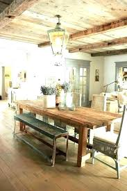 farmhouse style dining table d great farm set and chairs