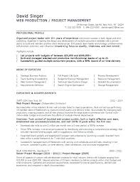 Senior Project Manager Resume Sample – Eukutak