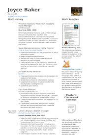 Personal Assistant Resume Samples Visualcv Resume Samples Database