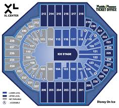 Disney On Ice Xl Center Seating Chart Xl Center Seating